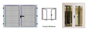 french windows security screen supplier
